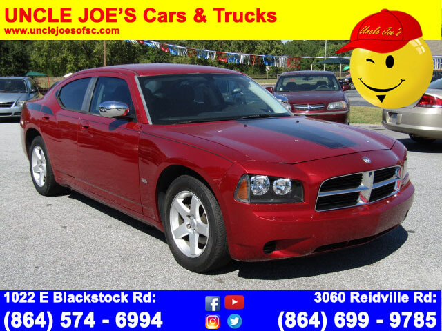 used cars used dodge used charger spartanburg uncle joe 39 s 2008 dodge charger bad credit no. Black Bedroom Furniture Sets. Home Design Ideas