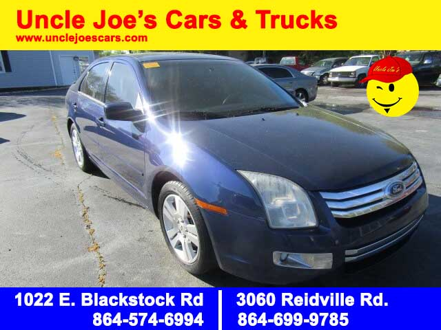 2007 Ford Fusion - Uncle Joe's Cars & Trucks