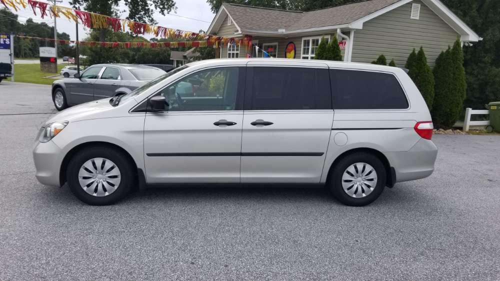 Honda Odyssey 2007 Silver