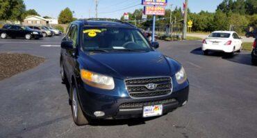 Hyundai Santa Fe 2007 Blue