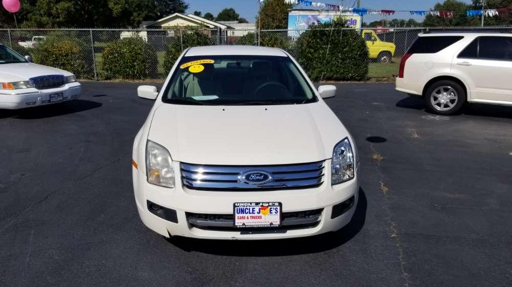 Ford Fusion 2008 White