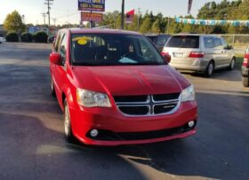 Dodge Grand Caravan 2012 Red