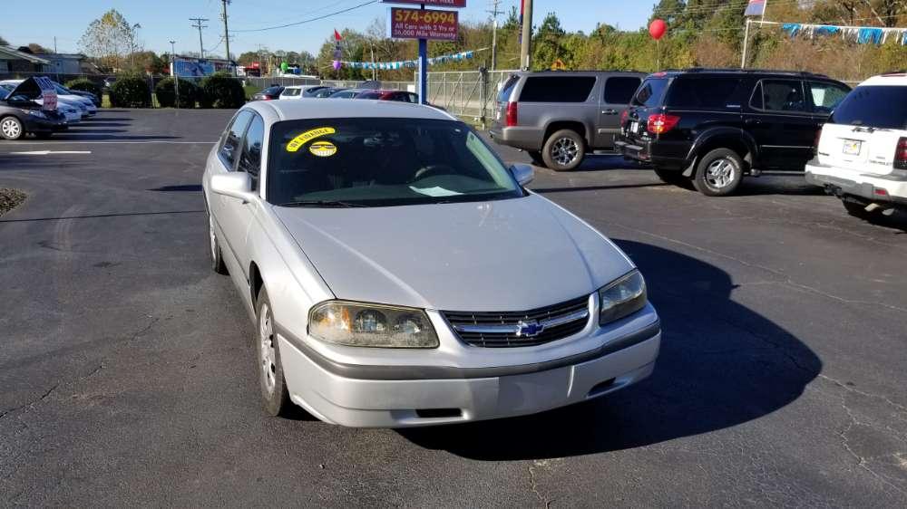 Chevrolet Impala 2004 Silver