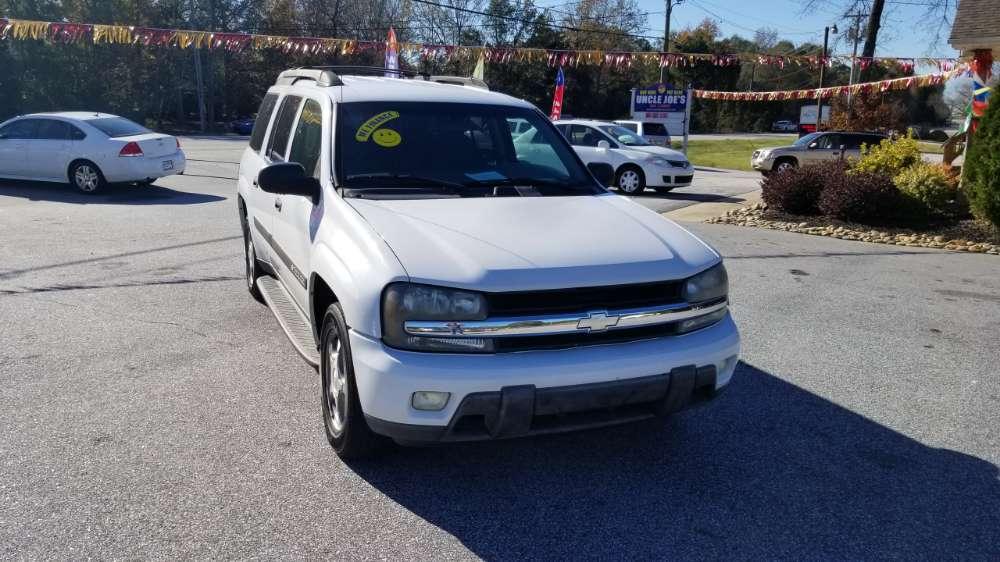 Chevrolet Trailblazer 2004 White