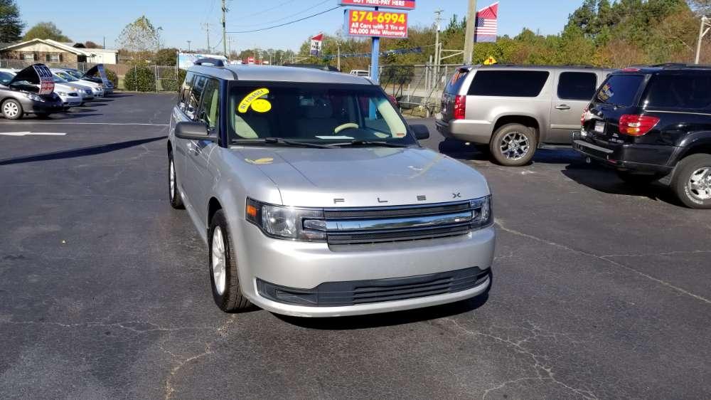 Ford Flex 2013 Silver