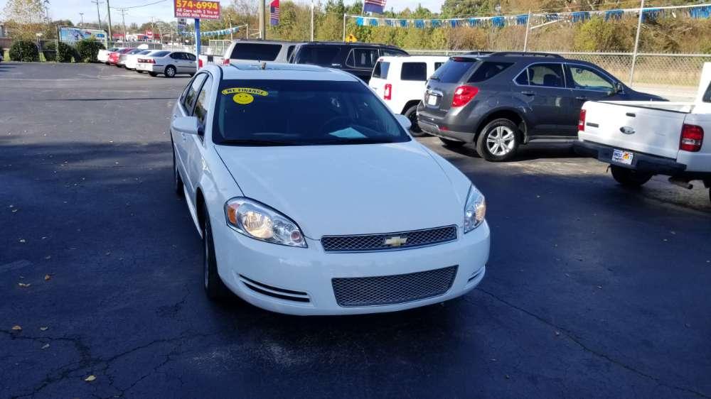 Chevrolet Impala 2015 White