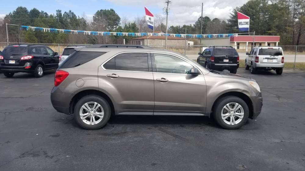 Chevrolet Equinox 2010 Gray