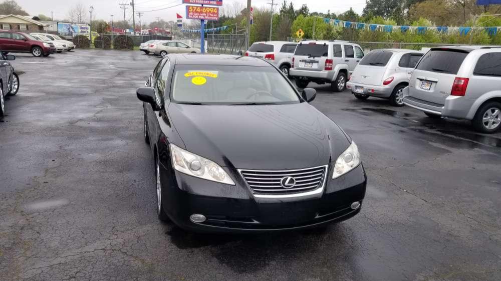 Lexus ES 2007 Black