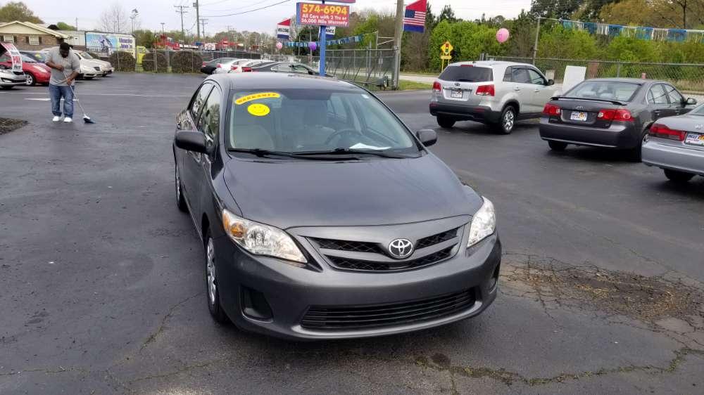 Toyota Corolla 2011 Dark Gray