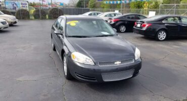 Chevrolet Impala 2014 Dark Gray