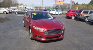 Ford Fusion 2014 Maroon