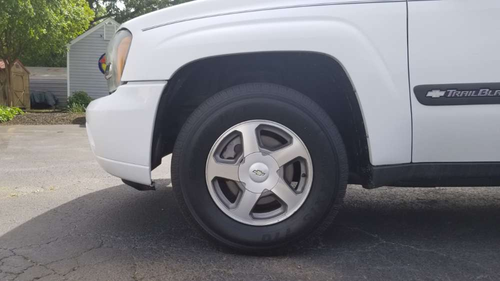 Chevrolet Blazer, Trailblazer 2004 White