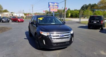 Ford Edge 2011 Black