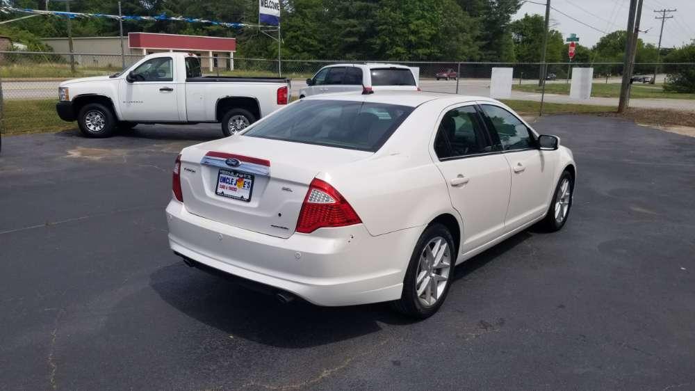 Ford Fusion 2011 White