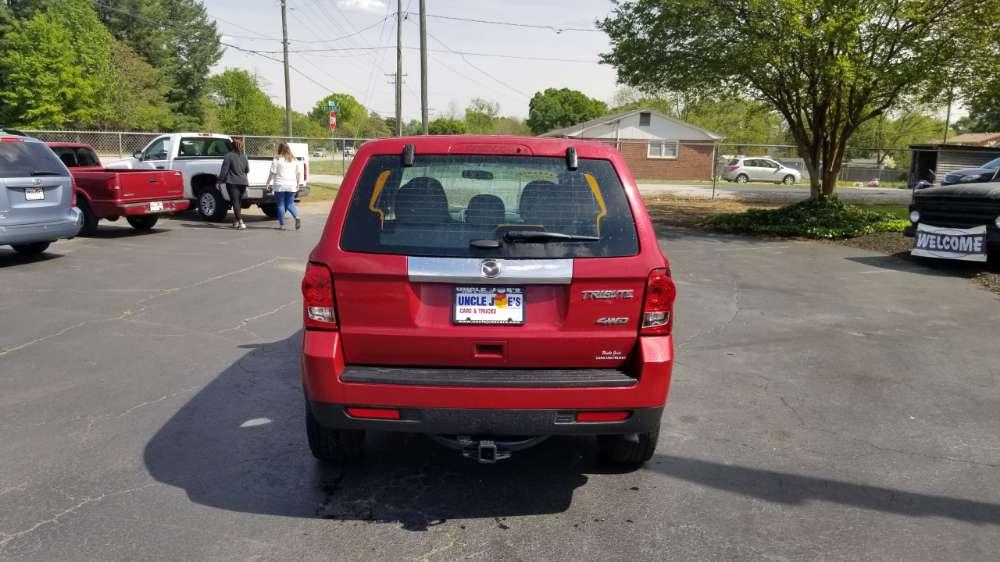 Mazda Tribute 2011 Red