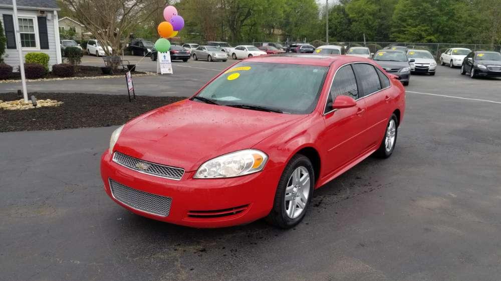 Chevrolet Impala 2012 Red