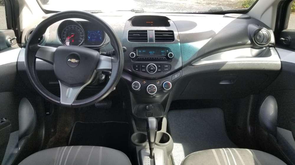 Chevrolet Spark 2014 Silver