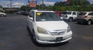 Honda Odyssey 2005 White