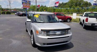 Ford Flex 2011 Silver