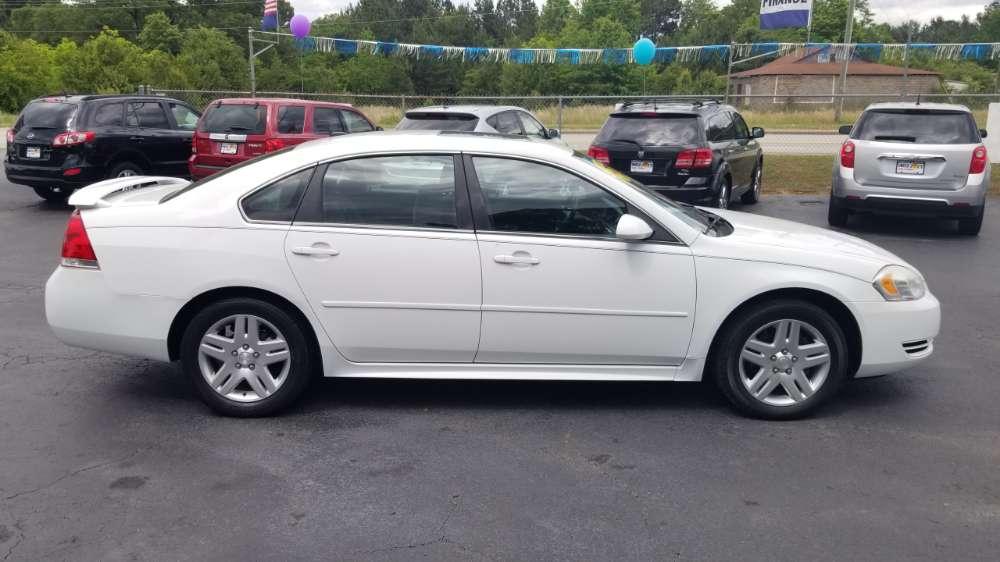 Chevrolet Impala 2012 White