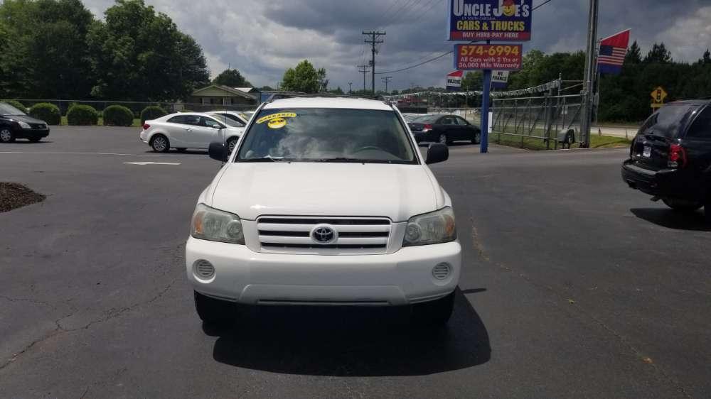 Toyota Highlander 2004 White