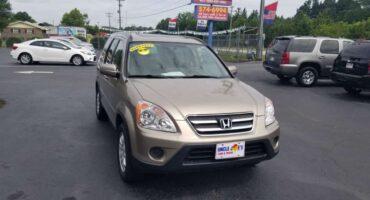 Honda CR-V 2006 Gold
