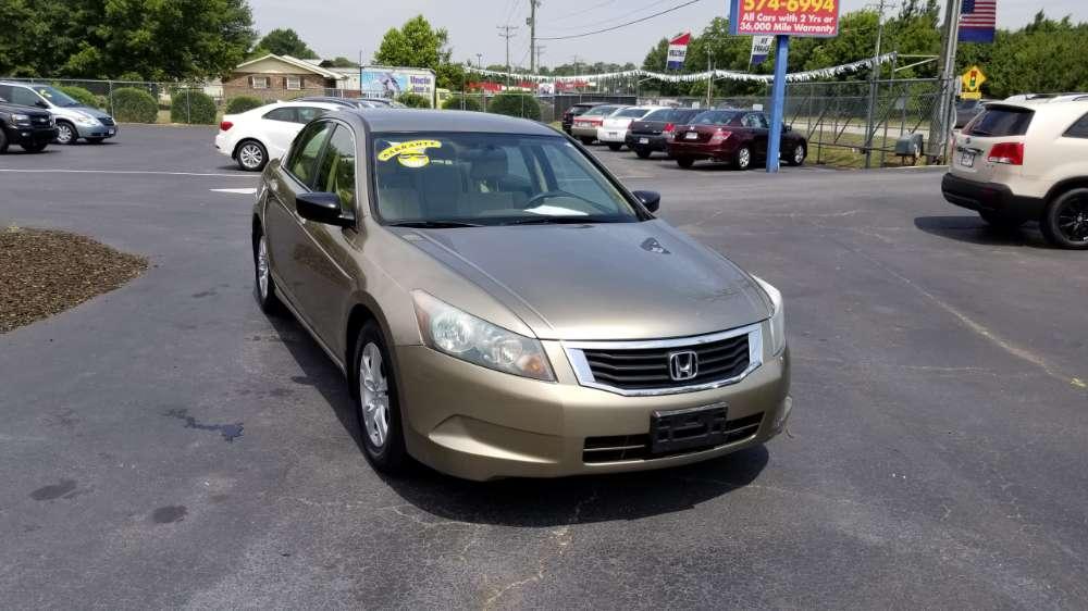 Honda Accord 2010 Gold