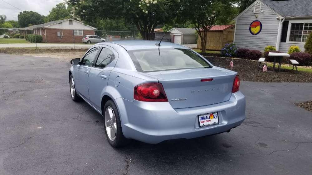 Dodge Avenger 2013 Blue