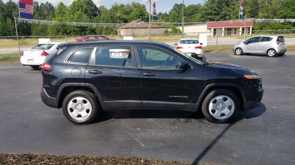Jeep Cherokee 2014 Black