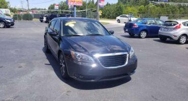 Chrysler 200 2014 Black