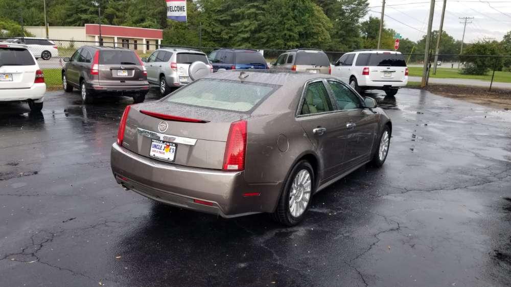 Cadillac CTS 2012 Gold