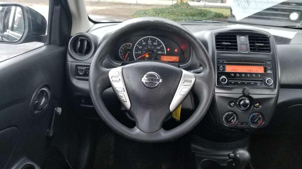 Nissan VERSA 2016 Black