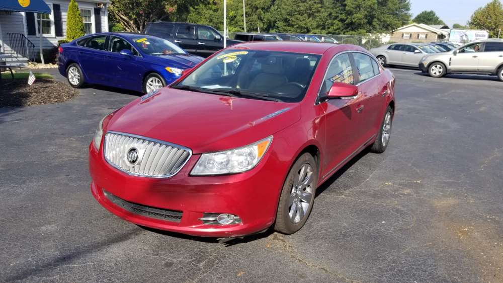 Buick LaCrosse 2012 Red