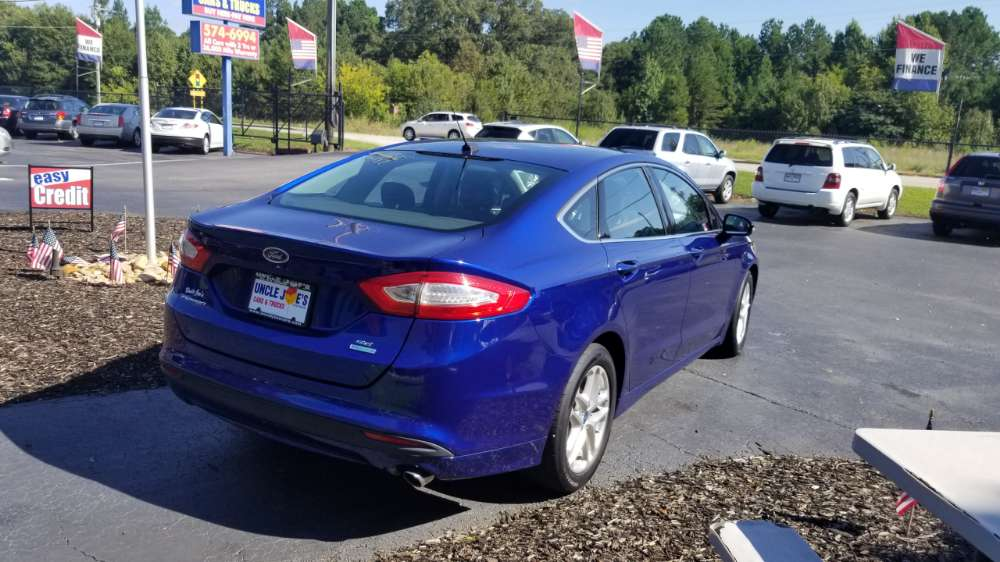 Ford Fusion 2013 Blue