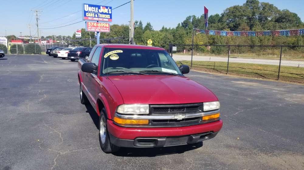 Chevrolet S-10 2002 Red