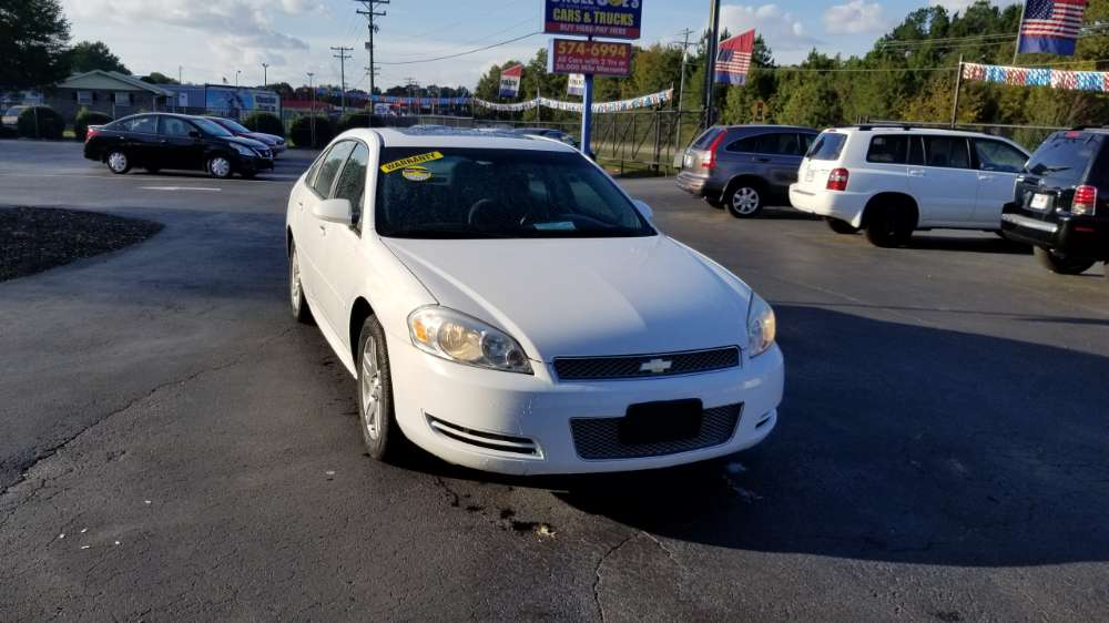 Chevrolet Impala 2014 White